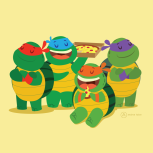 Ninja Turtles_Andrea Tobar