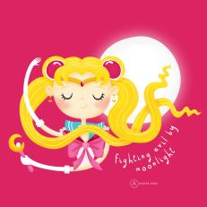 Sailor Moon_Andrea Tobar